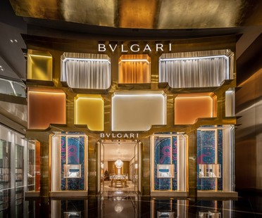 MVRDV completes the façade of the Bulgari flagship store in Bangkok