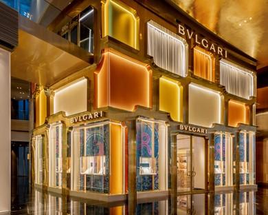 MVRDV completes the façade of the Bulgari flagship store in Bangkok