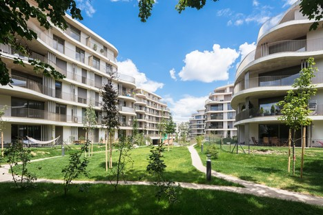Berger Parkkinen Architects designs Der Rosenhügel housing in Vienna