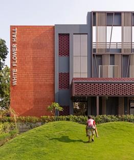 Envisage designs White Flower Hall, girls' hostel for the Mann School in Alipur, New Delhi