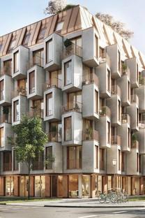 UNStudio and Bauwerk new Van B residences in Munich