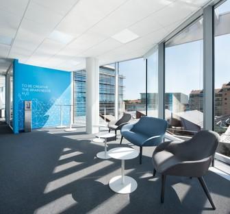 Giuseppe Tortato Architetti new Sandvik Headquarters in Milan