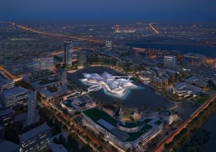 Zaha Hadid Architects Zhuhai Jinwan Civic Art Centre, China