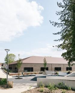 Vallet de Martinis Architectes two new schools in Noyon, France