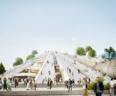 MVRDV brings new life to the Pyramid of Tirana