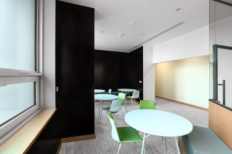 nEmoGruppo's interior design for Cyber Security Department offices at NYU, Abu Dhabi