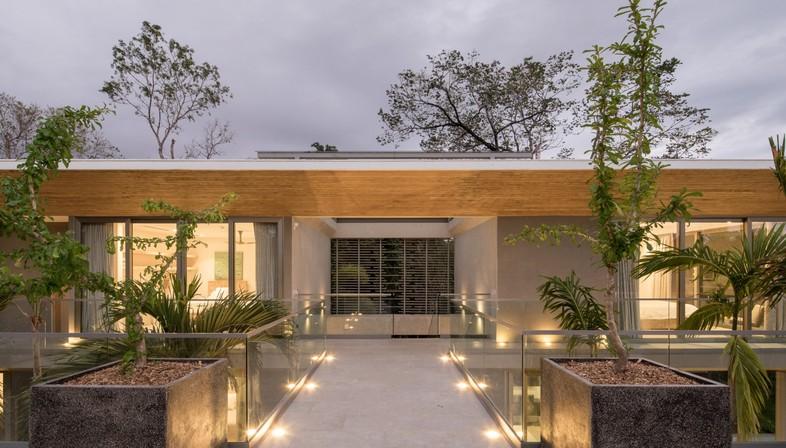 Studio Saxe The Courtyard House Costa Rica