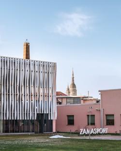 Frigerio Design Group new Zamasport Headquarters in Novara