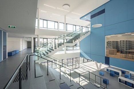 .Megatabs designs .BORG, a sustainable and energy-efficient school for Oberndorf