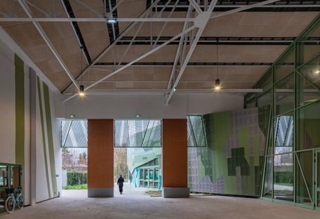 Miralles Tagliabue EMBT Le Pavillon of Romainville