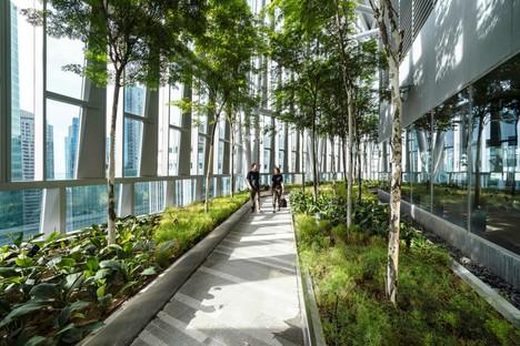 KPF's 18 Robinson skyscraper: green terraces over the city of Singapore