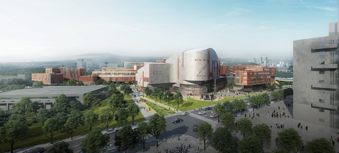 Miralles Tagliabue EMBT wins the competition for Shenzhen Conservatory of Music
