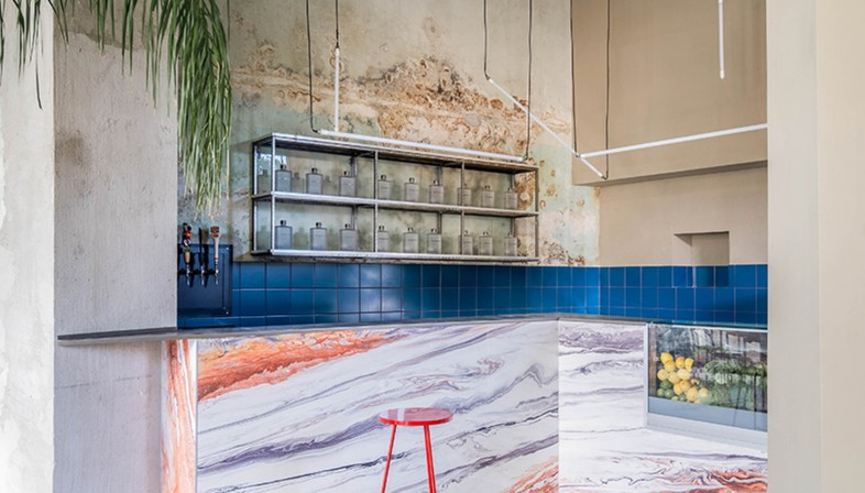 Studiotamat's Tre de tutto: a trendy restaurant in Rome