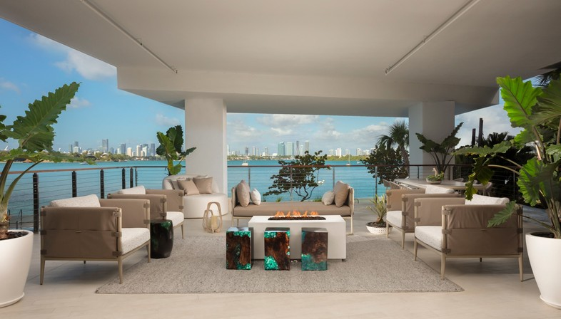 Ateliers Jean Nouvel Monad Terrace residences in Miami Beach