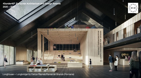 Emerging architects - The winners of the Europe 40under40® Award