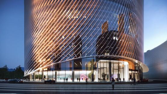 BIG-Bjarke Ingels Group designs O-Tower, Oppo Headquarters in Hangzhou