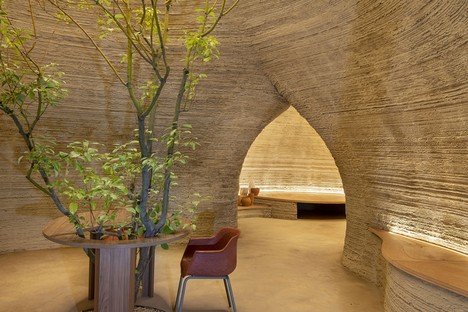 Mario Cucinella Architects designs TECLA, the first 3D printed eco-sustainable housing model in raw earth