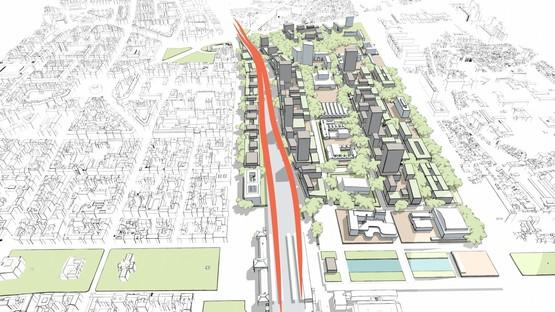 3LHD's urban revitalization of the former Gredelj industrial zone in Zagreb