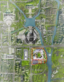 MAD presents plans for Jiaxing Civic Centre