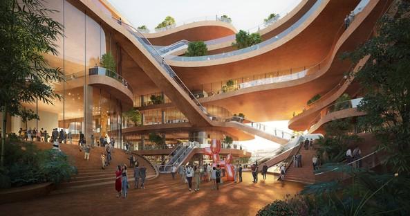 MVRDV begins construction of the Shenzhen Terraces