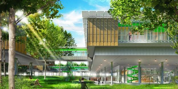 Renzo Piano designs a Pediatric Hospice among the treetops