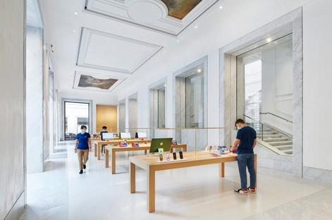 Foster + Partners designs Apple Store in Via del Corso in Rome