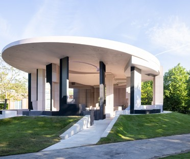 Serpentine Pavilion 2021 designed by Counterspace has opened its doors