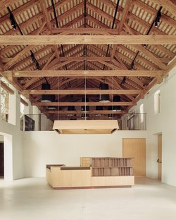 MoDusArchitects presents new entrance and extension of the Novacella Abbey Museum.
