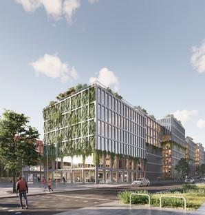 ADEPT's CLT building for the Wandsbek district in Hamburg