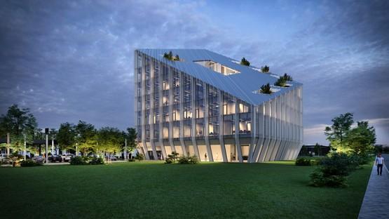 Peter Pichler Architecture + ARUP design winning project for the Bonfiglioli Headquarters