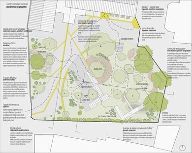 A new garden for Casa Coccapani thanks to the Fondazione Iris Ceramica Group