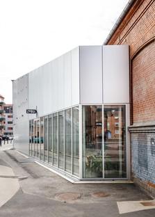 EFFEKT Architects design a foyer for Amager Bio and ZeBU theatre in Copenhagen
