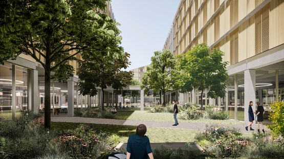 SOM presents plans for the Milano-Cortina 2026 Olympic Village
