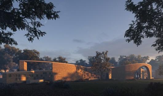 Form4 Architecture unveils design for Intertwined Eternities, a columbarium in Aptos, California