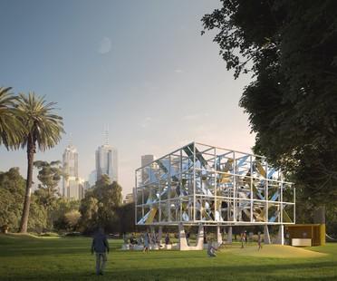 MAP Studio designs MPavilion 2021, a temporary pavilion in Melbourne