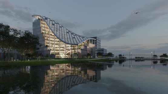 MVRDV designs the R&D headquarters of Lankuaikei Agriculture Development in Shanghai