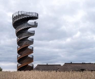 BIG Marsk Tower, a new landmark for the Wadden Sea National Park in Denmark