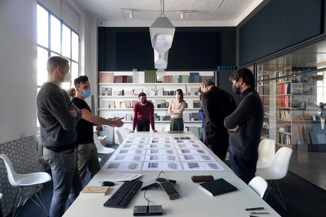 Research and development in architecture in Iris Ceramica Group events at Fuorisalone 2021