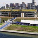 Powerhouse Company designs Floating Office Rotterdam, a climate-adaptable building