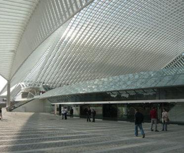 TGV station in Liège (Belgium) - Santiago Calatrava