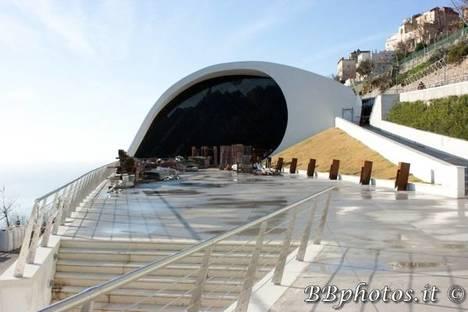 Oscar Niemeyer Auditorium in Ravello, Italy