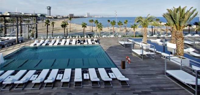 Bofill's Hotel W, Barcelona, Spain