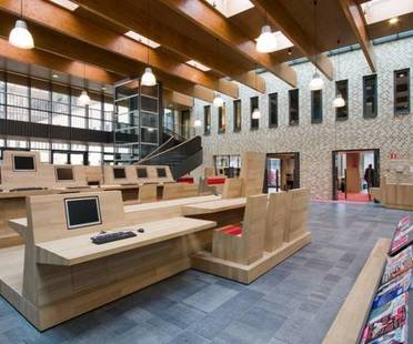 Vleuterweide culture campus by Aequo, the Netherlands