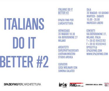 ITALIANS DO IT BETTER # 2