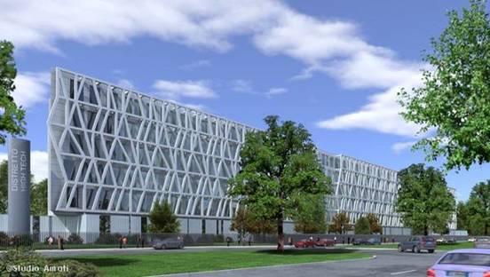 Studio Amati Architetti's project in the former Alenia industrial zone - Turin