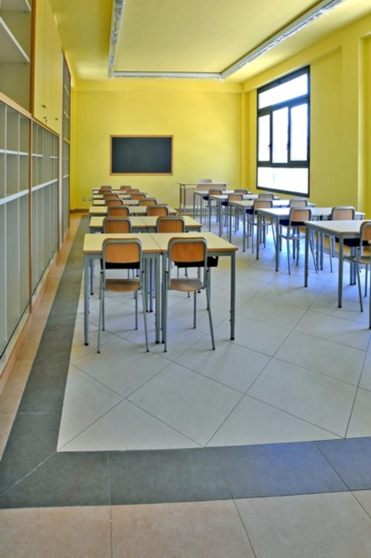 Elementary School Tressano Reggio Emilia Floornature