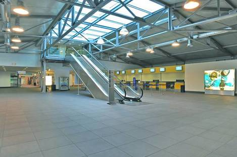 Ariostea tiles for Parma airport