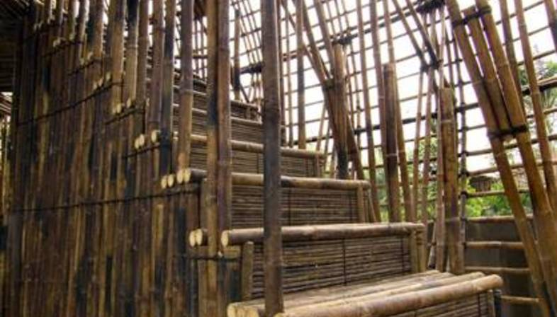 Water and Wind Bar - bamboo and architecture