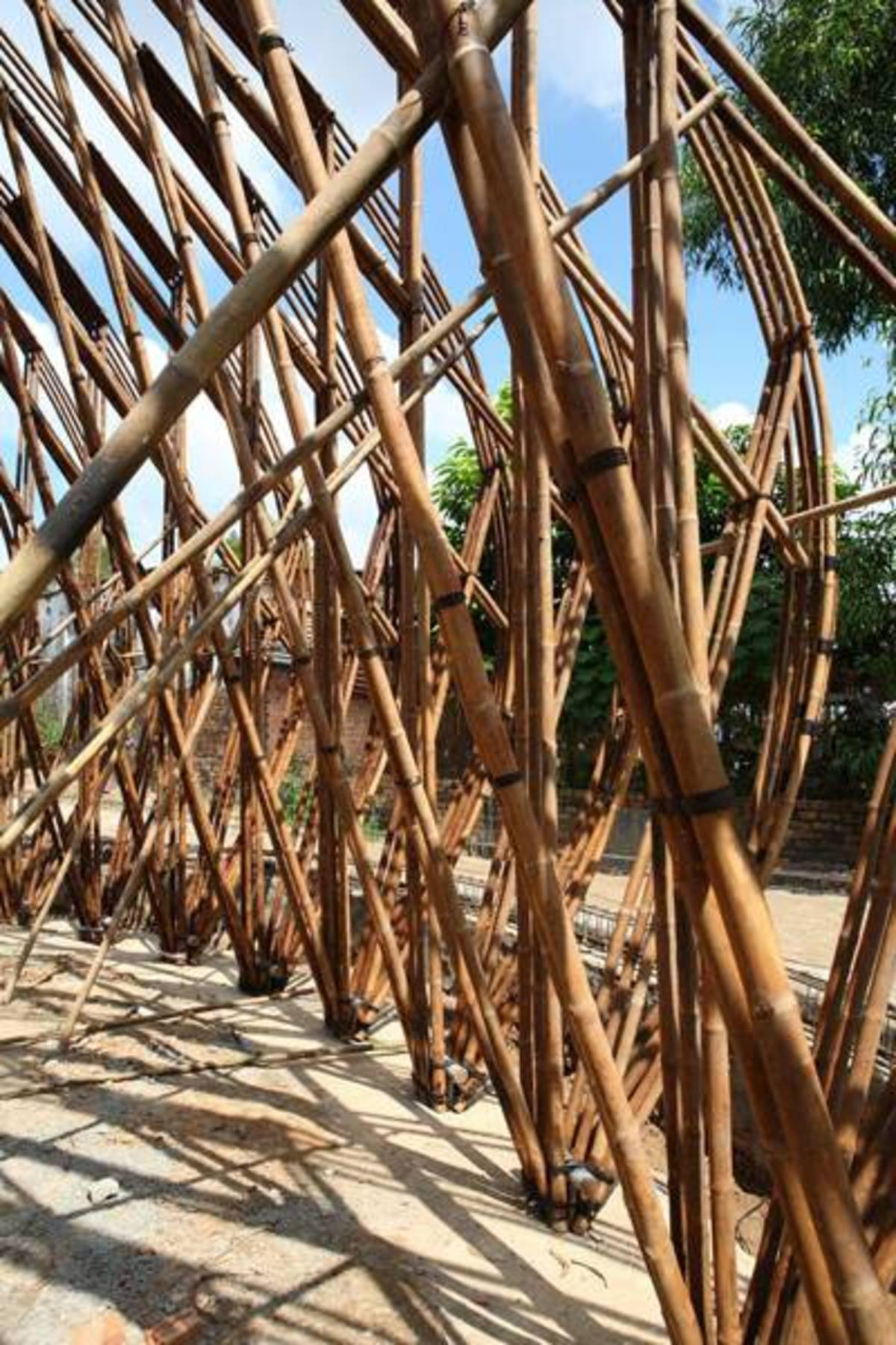 Water and Wind Bar bamboo and architecture   Floornature