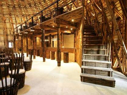 Water and Wind Bar – bamboo and architecture